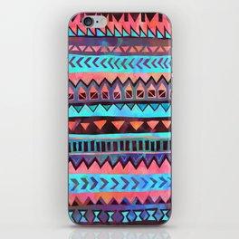 PATTERN {Tribal Stripe- Aqua} iPhone Skin