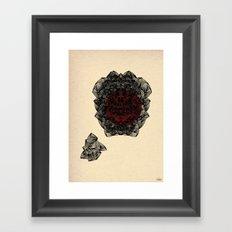 - cosmos_02 - Framed Art Print