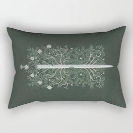 Flame of the West Rectangular Pillow