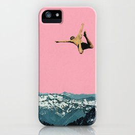 Higher Than Mountains iPhone Case