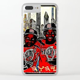 Sandlot Kingz 01: Prince Tyme & Titian 01 Clear iPhone Case