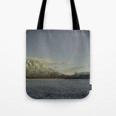 snow elk Tote Bag