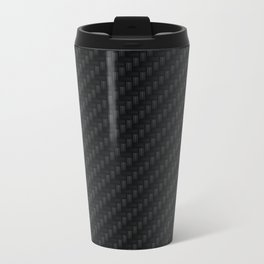 Carbon Fiber Metal Travel Mug