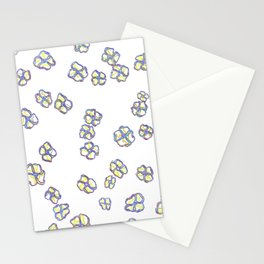 spring neon Stationery Cards