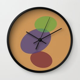 Balance Abstract Figures 5 Wall Clock