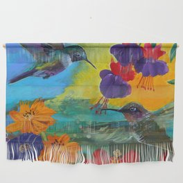 Hummingbirds Wall Hanging