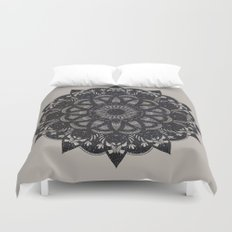 Black Space  Duvet Cover