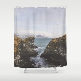 Pathway to the Sea Shower Curtain