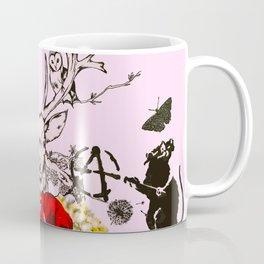 Deer Graffiti Coffee Mug