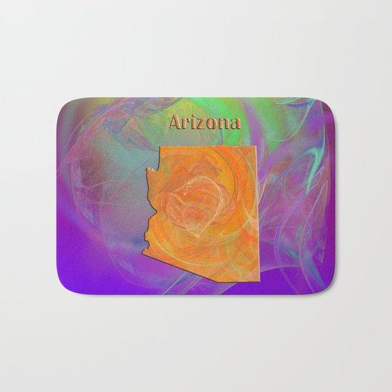 Arizona Map Bath Mat