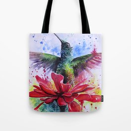 Rising from a Flower Tote Bag