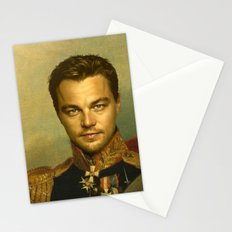 Leonardo Dicaprio - replaceface Stationery Cards
