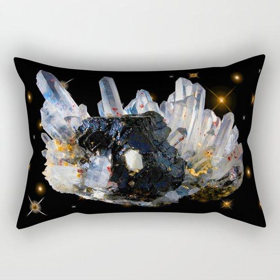 Star Aura Quartz Rectangular Pillow