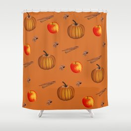 Fall Spice Shower Curtain