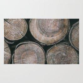 Log Ends Rug
