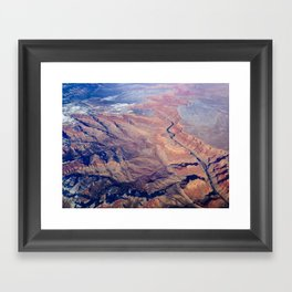 Scar Framed Art Print