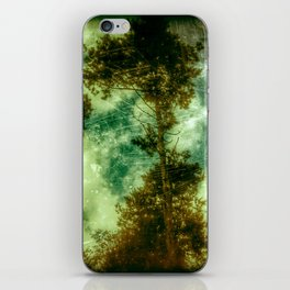 Forest Memories In Green iPhone Skin