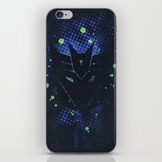 Grunge Transformers: Decepticons iPhone & iPod Skin