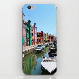 Burano summer iPhone Skin