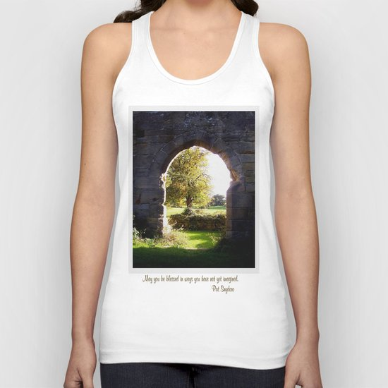 Unimagined Blessings Unisex Tank Top