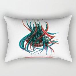 Break The Net Rectangular Pillow