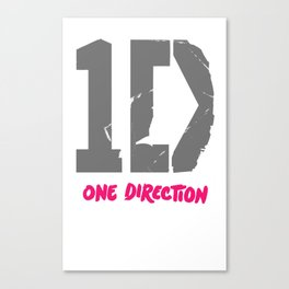 1 Direction Canvas Print