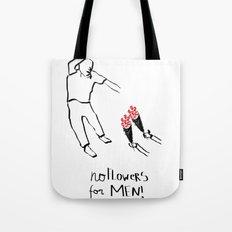 Flower men Tote Bag