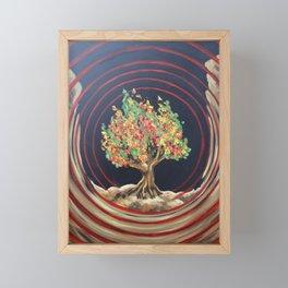 Sound From The Burning Bush Framed Mini Art Print