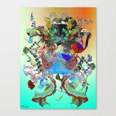 Endless Rhythms Canvas Print