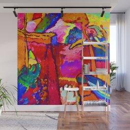 Wassily Kandinsky Improvisation V Wall Mural