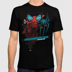 Amazing Spider-man 2 Poster Mens Fitted Tee MEDIUM Black