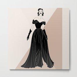 Vintage Glam No.1 Metal Print