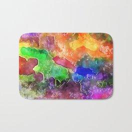 Watercolor Wash Bath Mat