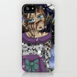 Shots in the Snow iPhone Case
