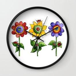 The Three Amigos II Wall Clock