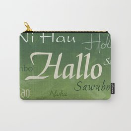 Hallo Carry-All Pouch