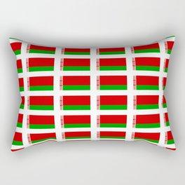 flag of belarus -Беларусь,Белоруссия,Belarus,Belarusian,Minsk. Rectangular Pillow