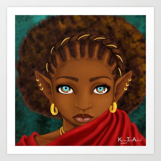 Young Elf Art Print