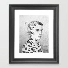 Self-Portrait: Human Nature Framed Art Print