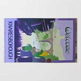 Vintage poster - Knaresborough Rug
