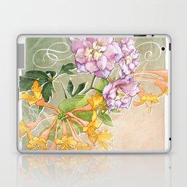 June Flowers Laptop & iPad Skin