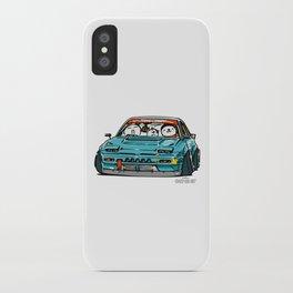 Crazy Car Art 0156 iPhone Case