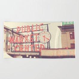 Seattle Pike Place Public Market photograph, 620 Beach Towel