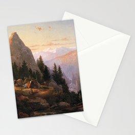 Sugar Loaf Peak El Dorado County 1865 By Thomas Hill | Reproduction Stationery Cards