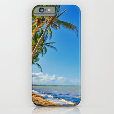 Coconut palms in Tropical North Queensland Slim Case iPhone 6