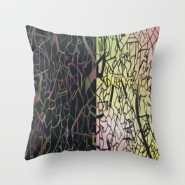 Chaotic Compulsion  Throw Pillow