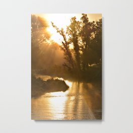 Coon Creek Portrait Metal Print