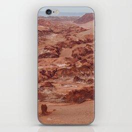 Valle de la Luna, Chile iPhone Skin