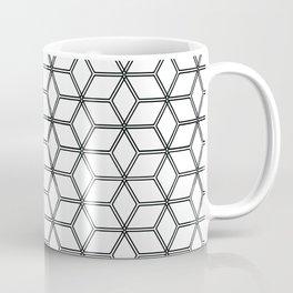 Geometric Hive Mind Pattern - Black #375 Coffee Mug