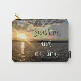 Sunshine and Me Time Carry-All Pouch